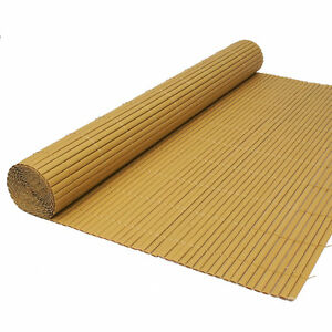Image Is Loading Artificial Bamboo Cane Garden Screening Fencing Screen  Fence