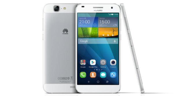 Huawei Ascend G7 16 GB silber weiß -ohne Vertrag- Sehr guter Zustand