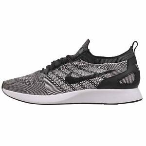 Enthousiaste Nike Air Zoom Mariah Flyknit Racer Running Homme Chaussures Noir Platine 918264-015-afficher Le Titre D'origine