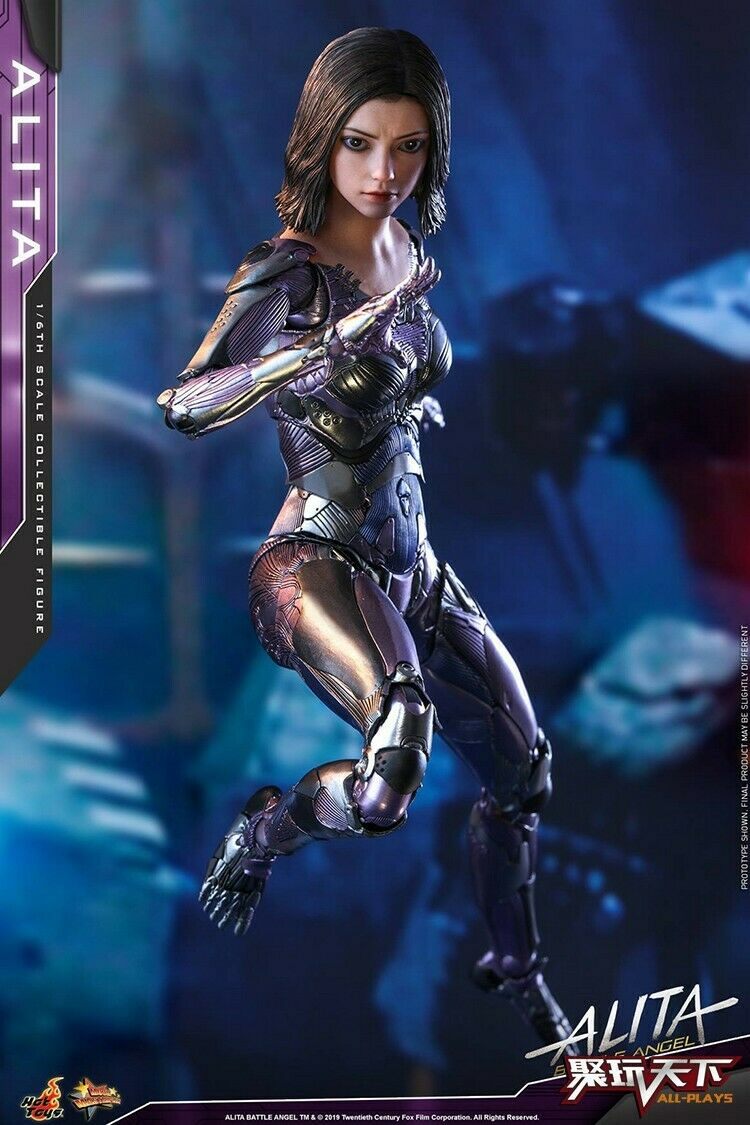Alita  Battle Angel Hot Toys HT 1 6 MMS520 Figura De Acción Nueva Gunnm Modelo