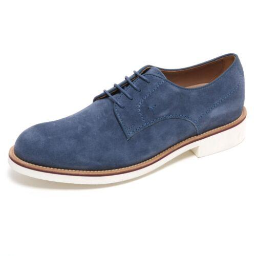 B6054 Carta Classica Scarpa Shoe Uomo Man Scarpe Zucchero Da Derby Blu Tod's q0q5vnr