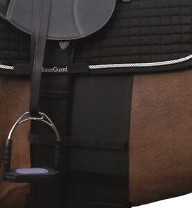 scan-horse-HorseGuard-Sporenschutzgurt-schwarz-elastischer-Sporenschutz-2-Groessen