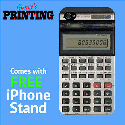 Old Calculator Phone Case + FREE iPhone Stand - Funny Cool Retro Music  Weird | eBay