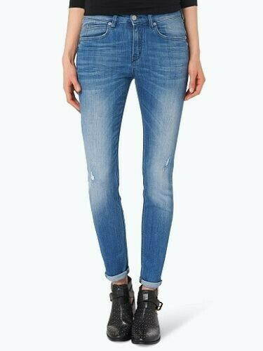 Drykorn for beautiful people Denim Skinny Jeans ripped Soon gr. 27 34 NEU