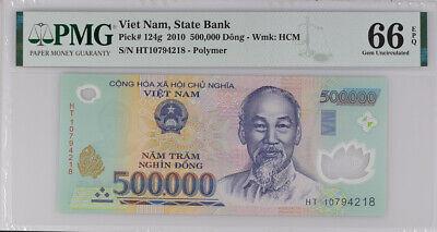 UNC VIET NAM 200.000 Dong 2014 Polymer Pick 123g