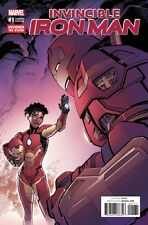 MARVEL INVINCIBLE IRON MAN #1 IRON HEART RIRI WILLIAMS DIVIDED WE STAND VARIANT