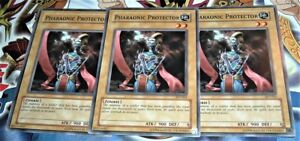 Near Mint Condition YUGIOH Card Pharaonic Protector Mint