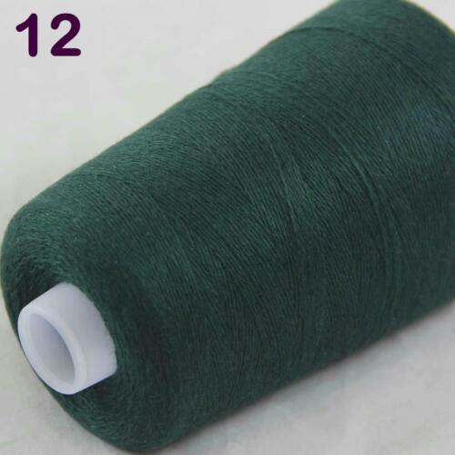 Sale Luxurious Soft 100g Mongolian Cashmere Knitting Wrap Cone Yarn Hunter Green