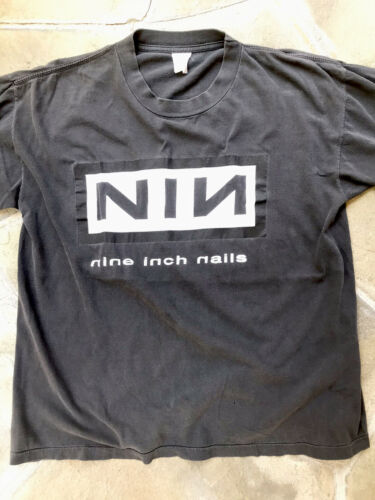Nine Inch Nails KnockOut NIN Industrial Metal Worn