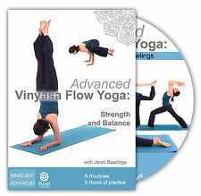 Advanced Vinyasa Flow Yoga: Strength and Balance (DVD, 2012)