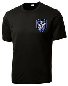 Dallas texas police heroes live forever thin blue line for Texas thin blue line shirt