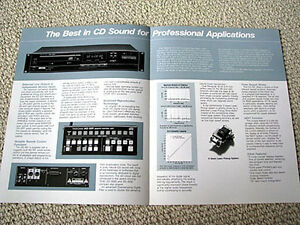 TASCAM-TEAC-CD-501-professional-Compact-Disc-CD-player-brochure