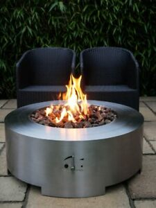 Saturn Lpg Gas Fire Pit Table