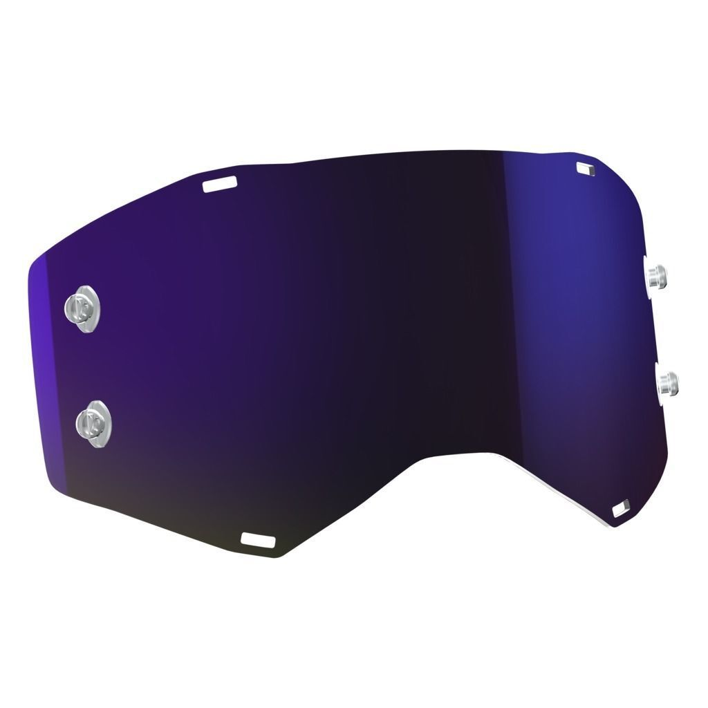 ORIGINAL Scott Prospect  Recambio purplea Cromo compatible Gafas Desprendibles  fast shipping worldwide