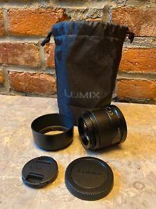 Panasonic H-HS043-K - Single focal Lumix G 42.5 mm F1.7 ASPH POWER O.I.S - Black