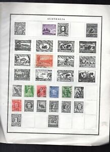 Old Foreign Stamps vf mint & used Australia,Falk Islands,Denmark,Senegal,Somali