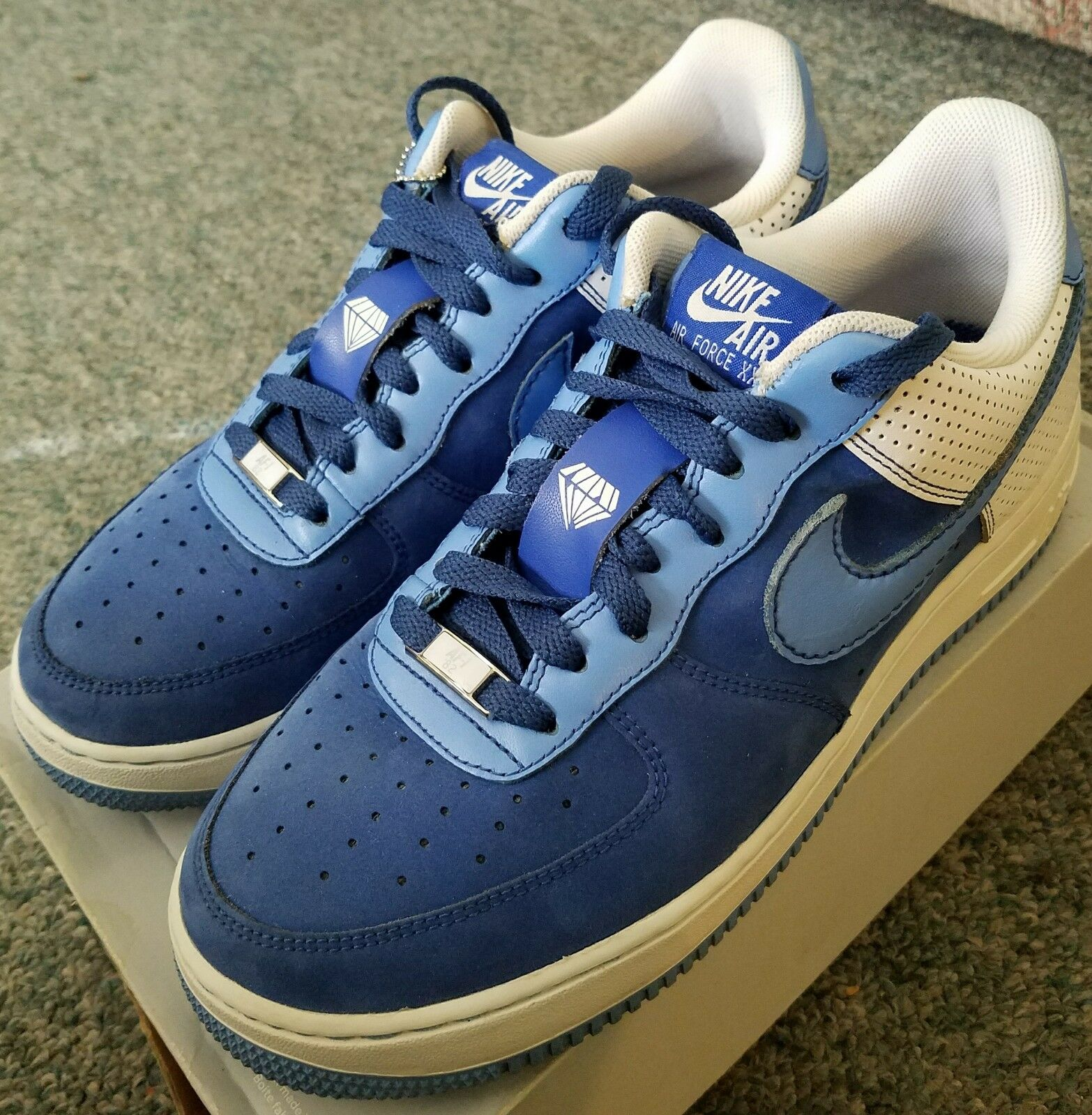 2007 Nike Air Force 1 Uomo 9.5 Diamond Supply collaboration, Extremely clean!