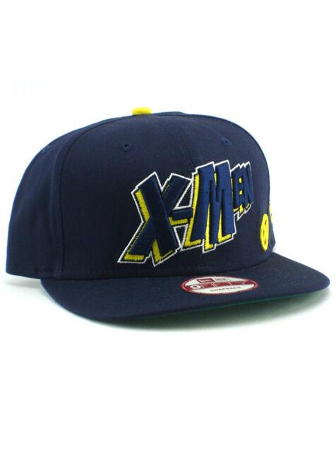 5431e610dea New Era X-Men 9fifty Snapback Hat Adjustable Marvel Comics Xmen Dark Purple  NWT