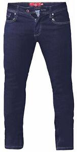 D555-Mens-Big-Size-Tapered-Fit-Stretch-Jeans-In-Indigo-Cedric