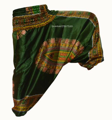 Yoga turchese Arte Pantaloni Donna larghi scuro Verde eleganti stampa Pantaloni Rosso indiano giallo africana Gypsy viola rosa Uomo Harem arancione rosso xqwqpA4I