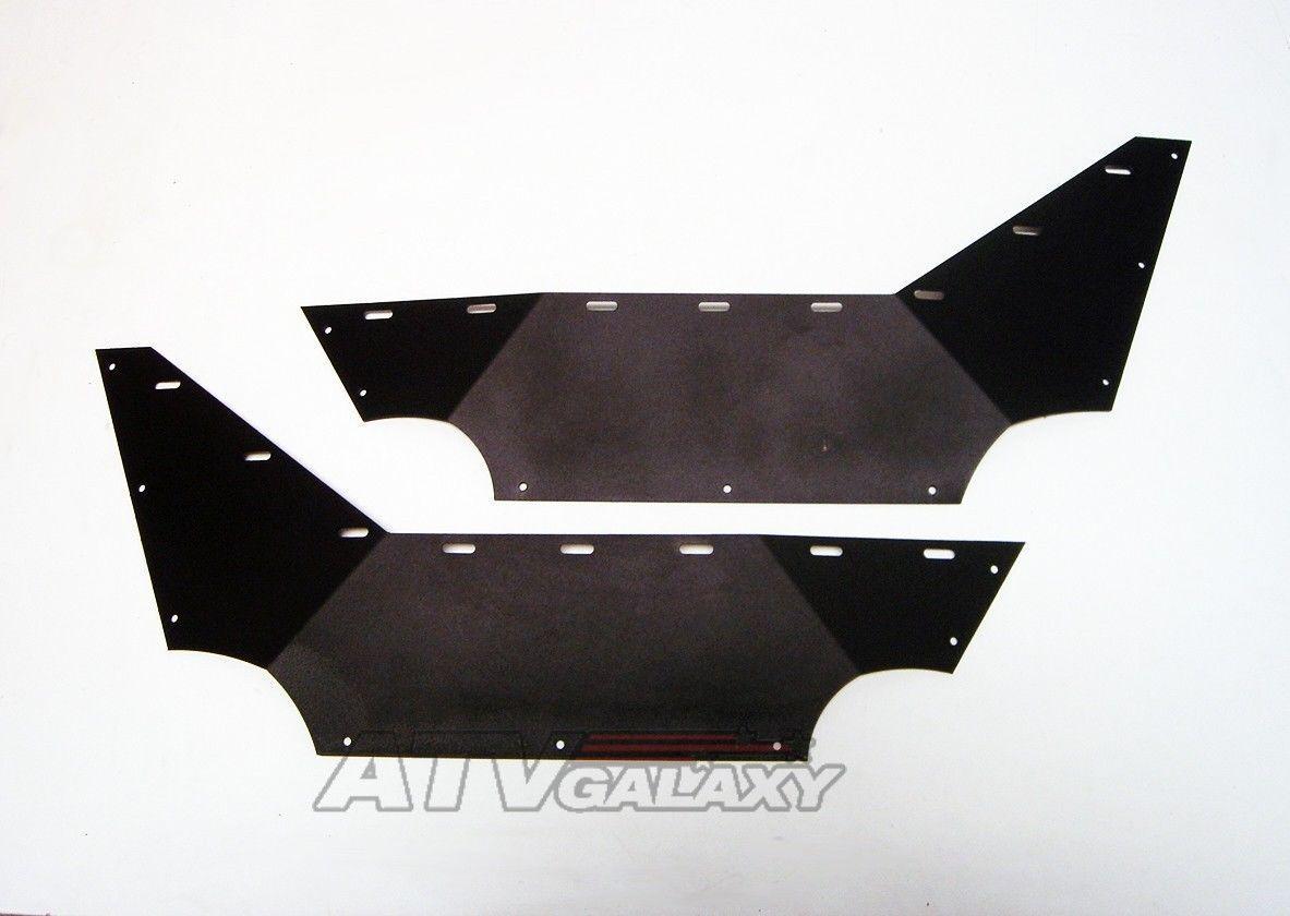 Pro Armor Seite Schutz Bein Schutz Türen Schwarz Yamaha Rhino 450 660 700