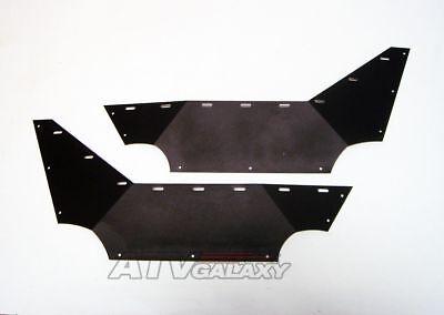 Pro Armor Side Guard Nerf Bars Step BLACK Yamaha Rhino 450 660 2004-2006