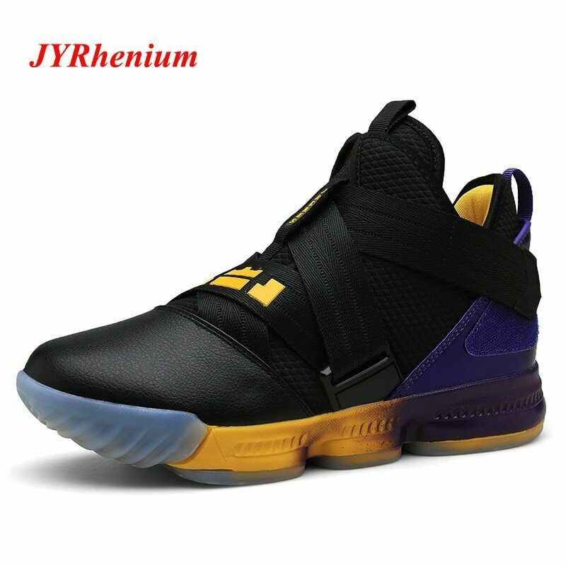 New Basketball Comfortable Training Ankle Boots Men Sneakers Athletic Sport