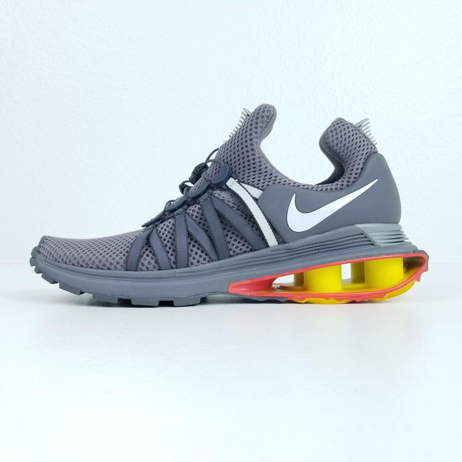 Nike shox da gravit della formazione delle scarpe da shox corsa Uomo sz 9,5 gunsmoke grey aq8553 006 4cd39d
