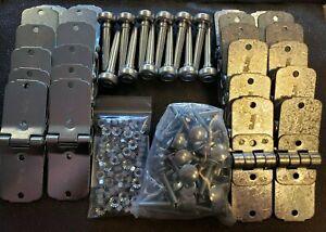 "Piece Whiting Style Box Truck Trailer Door Hinge 2/"" Steel Roller Kit Todco 36"