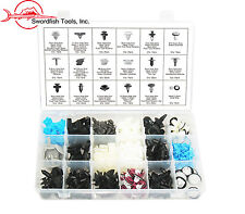 Swordfish 60300 - 310pc Auto Body Retainer Fastener Clip Assortment for Nissan