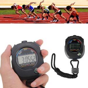Digital-Handheld-Sport-Stoppuhr-Stoppuhr-Timer-Alarm-Zaehler-Grosshandel-Y6X8