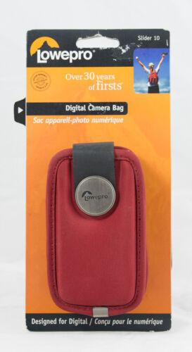 auch für iPod Lowepro Slider 10 Rot Kompaktkamera Tasche camera bag GPS
