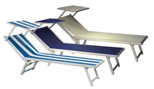vendita economica MOICLAT58A LETTINO MARE TETTUCCIO alluminio alluminio alluminio textilene 850 avorio  vendendo bene in tutto il mondo