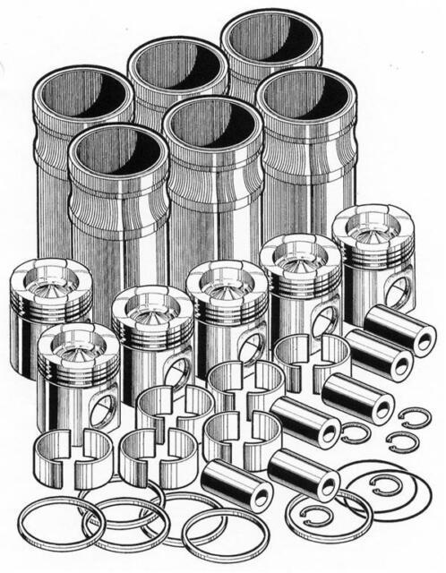 Cummins N14 Celect Plus Inframe Engine Rebuild Kit Pai N14222 017