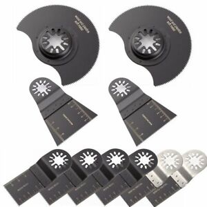 10-Pcs-Oscillating-Multi-Tool-Saw-Blade-For-Fein-Multimaster-BOSCH-Dremel-Makita