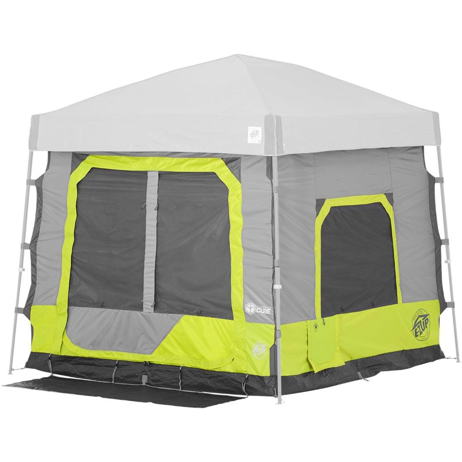 E-Z Up Einhängezelt Camping Cube 5.4 Angled, Limeade, Zelt, limette