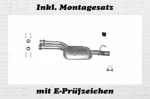 S210,W210 MERCEDES E-KLASSE E280 E320 E420 E430 Mitteltopf Auspuff Montagesatz