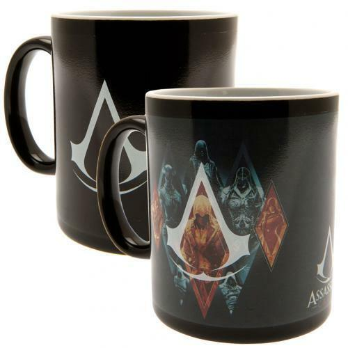 Assassins Creed Heat Changing Mug VIDEO GAMER FAN Birthday Present Gift Idea