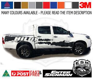 Toyota Hilux Esm Splash Side Stripes Decal Kit Avery Wrap Vinyl Ebay