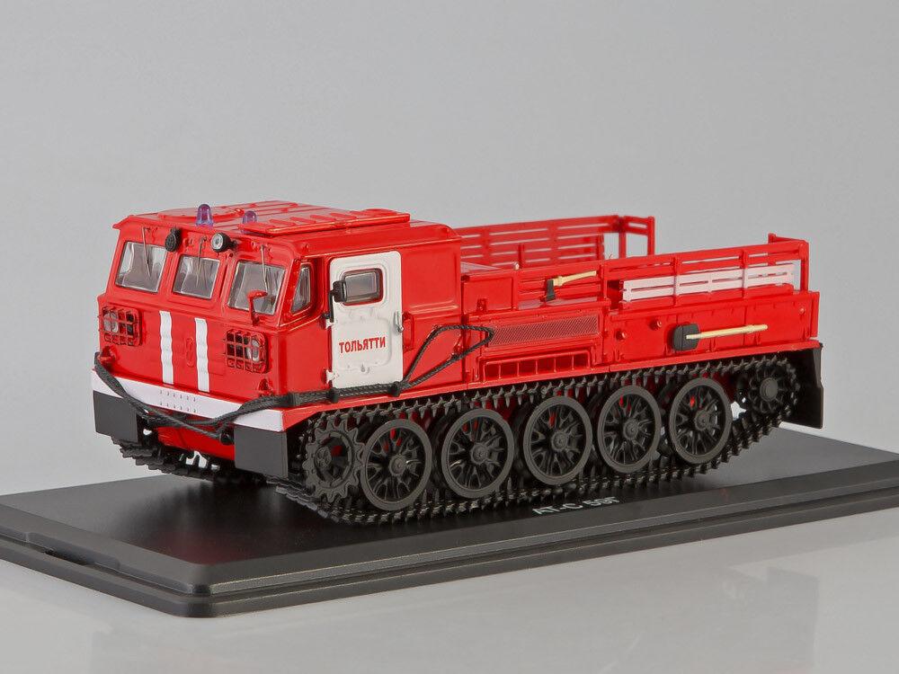 1 43 ATS-59G Crawler Artillerie Tracteur Incendie (SSM3008)