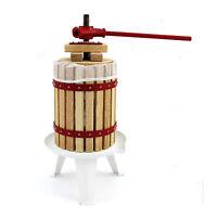 Kukoo Fruit Apple Press Manual Cider Making Pressed Juice Homemade Wine 18 Litre