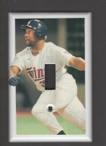 KIRBY PUCKETT LIGHT SWITCH PLATE MINNESOTA TWINS