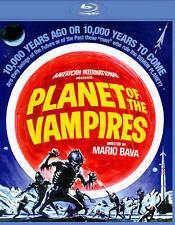 PLANET OF THE VAMPIRES - MARIO BAVA - ALIEN - Blu-ray - FREE SHIPPING!