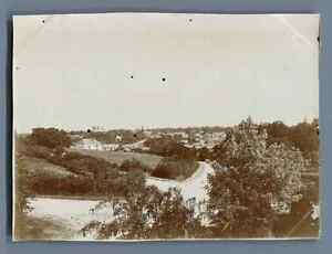 France, Rocheservière (Vendée), Vue générale Vintage citrate print. Vintage Fra
