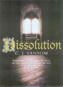Dissolution (The Shardlake Series)-C. J. Sansom, 9780330411967