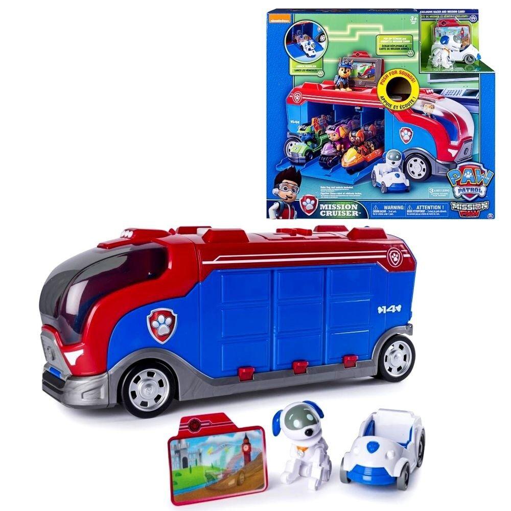 Mission Cruiser   LKW   Transporter Mission Mini Fahrzeuge & Sound   Paw Patrol