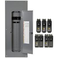 Square-d 200-amp 40-space 80-circuit Indoor Main-breaker Panel Box Load-center