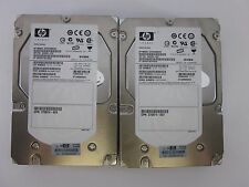 lot of 2 HP 454228-002 488060-001 DF300B8053 300GB 15K SAS HARD DRIVE