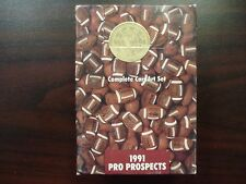 1991 Star Pics Football Pro Prospects SEALED Complete Set-FAVRE RC!
