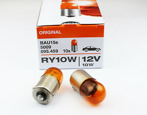 2X OSRAM 5009 12V10W RY10W BAU15s bulb ATUO turn singal lamp light car light